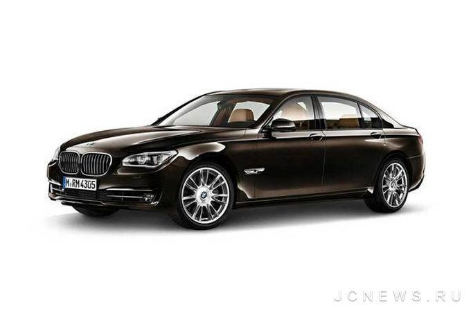 В Париже представят BMW 7-Series Individual Final Edition
